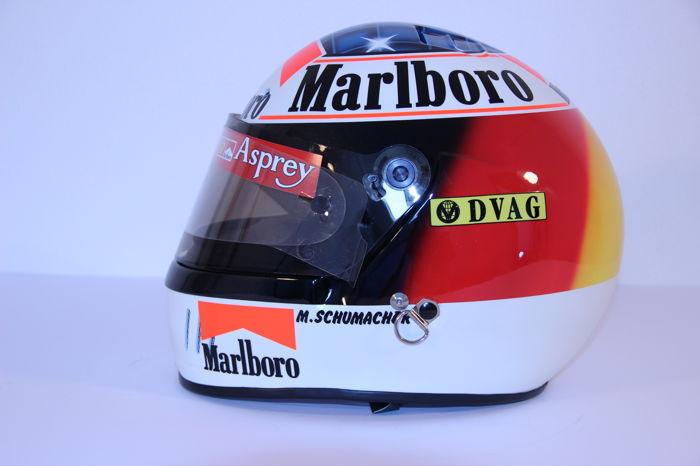 Michael Schumacher Bell helmet for auction (4)