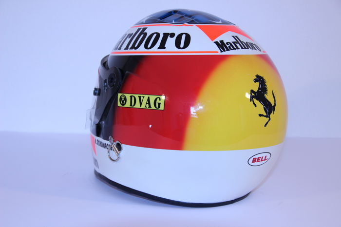 Michael Schumacher Bell helmet for auction (5)
