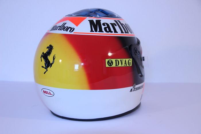 Michael Schumacher Bell helmet for auction (7)