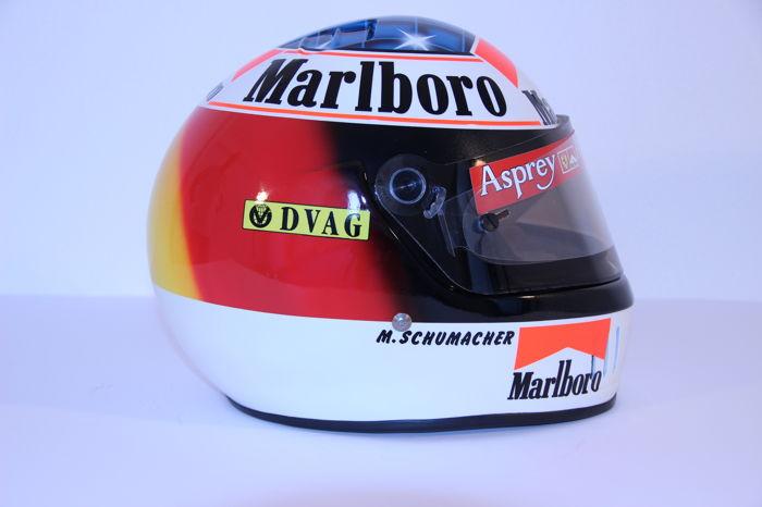 Michael Schumacher Bell helmet for auction (8)