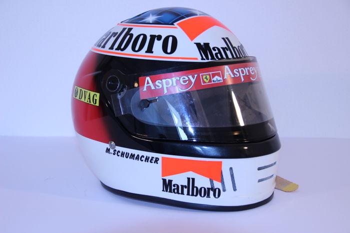 Michael Schumacher Bell helmet for auction (9)