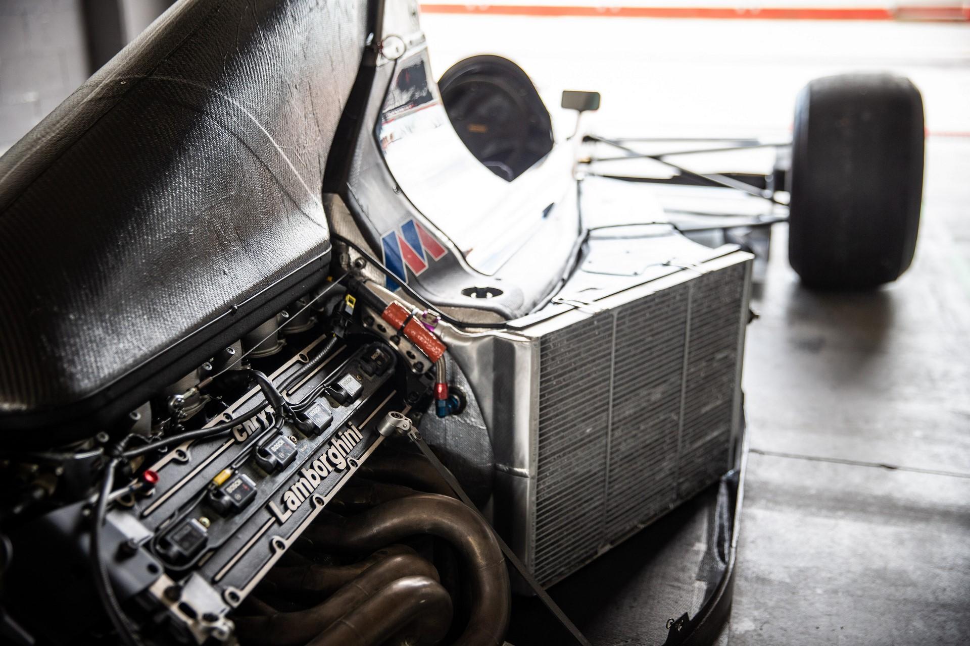 Minardi 191B restored (7)