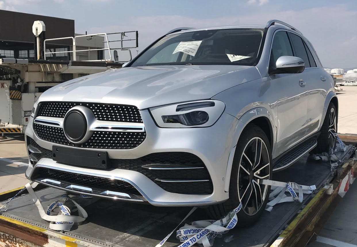 New Mercedes GLE spy photos (1)