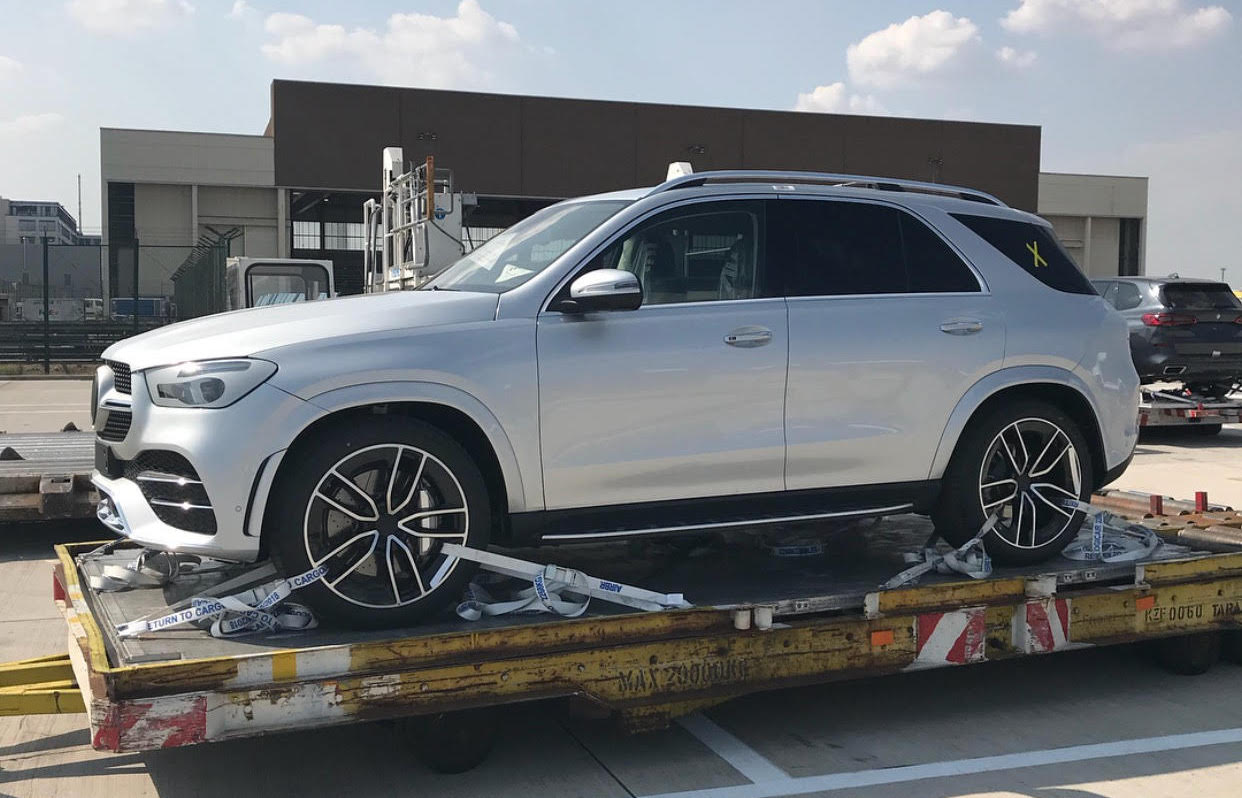New Mercedes GLE spy photos (2)