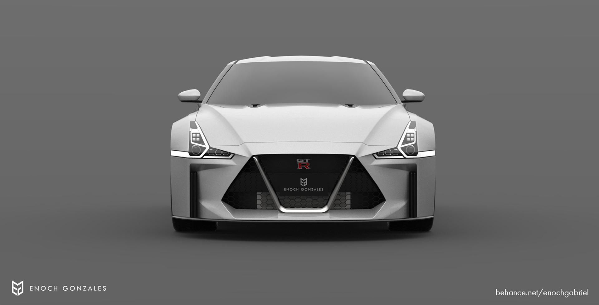 New Nissan GT-R renderings (1)