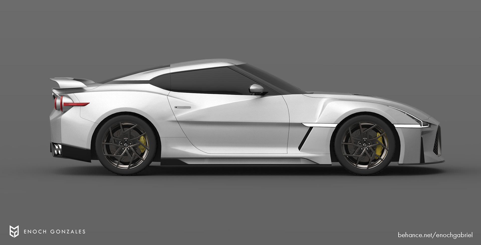 New Nissan GT-R renderings (10)