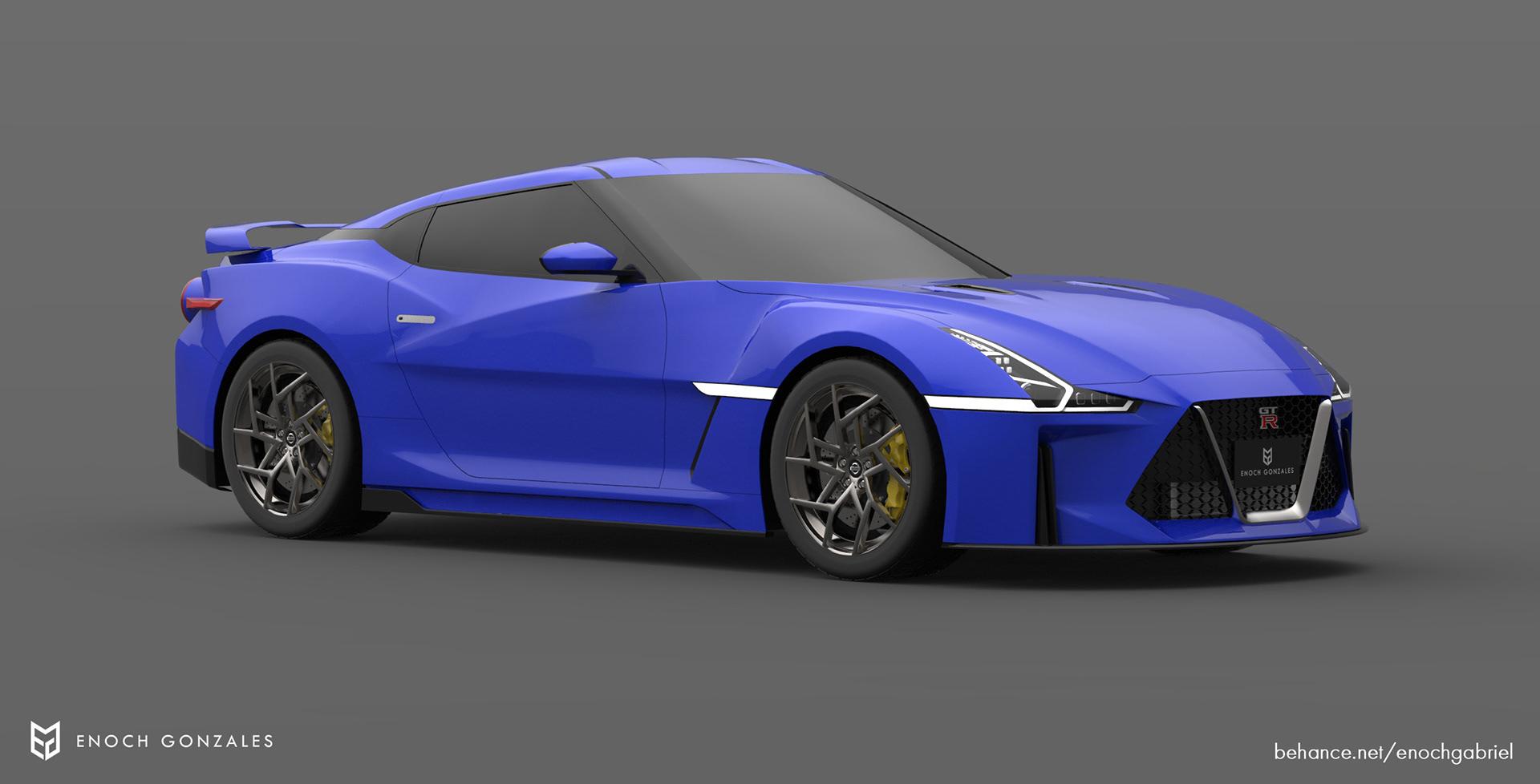 New Nissan GT-R renderings (11)