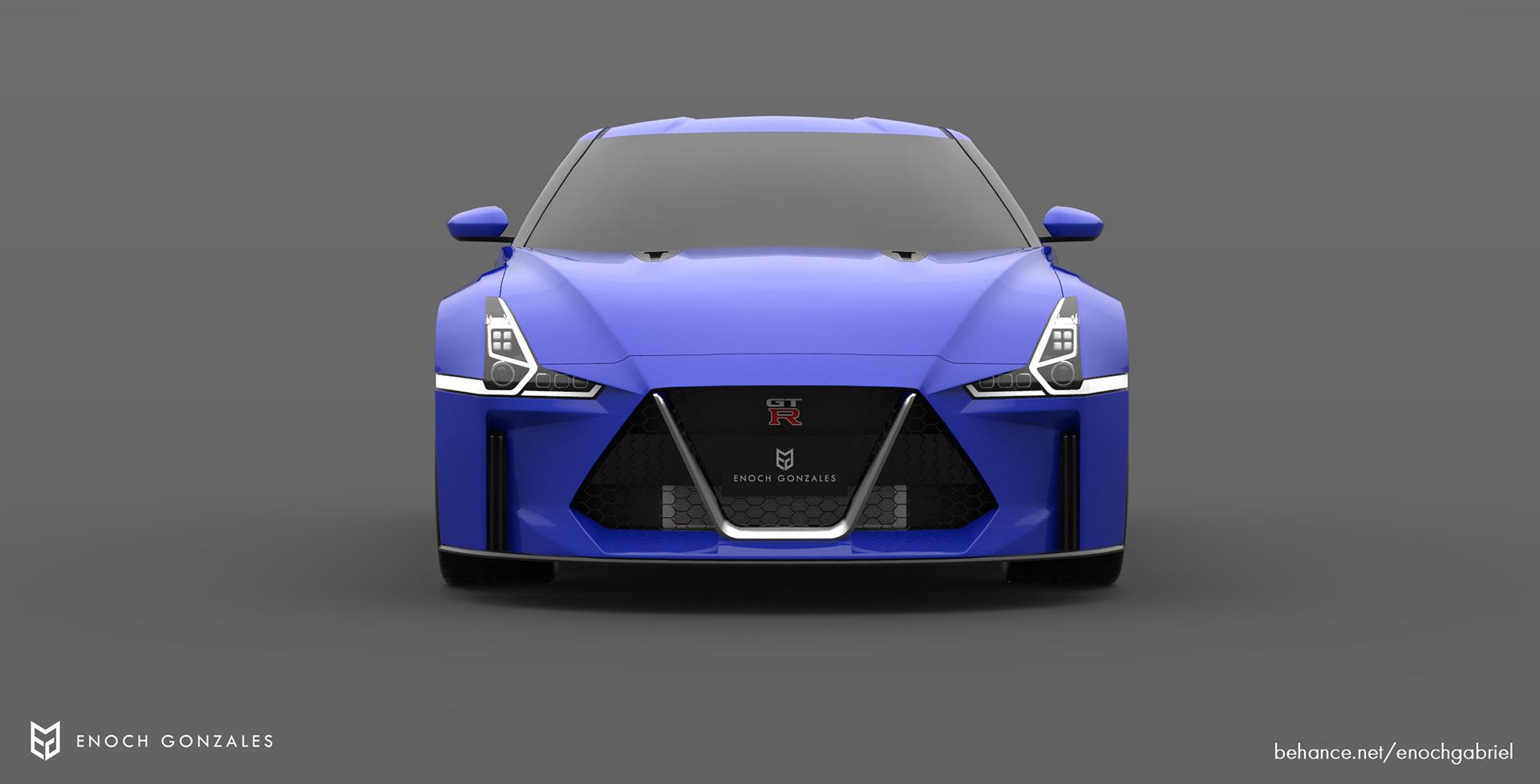 New Nissan GT-R renderings (13)