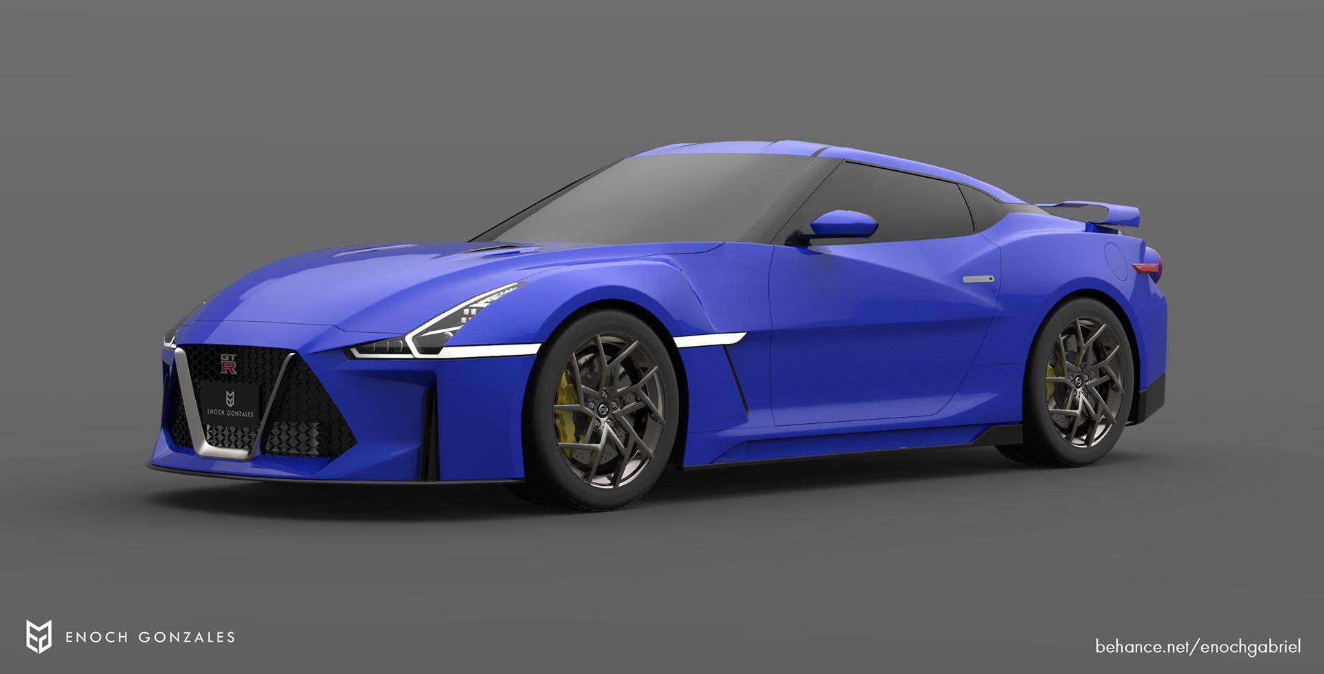 New Nissan GT-R renderings (14)