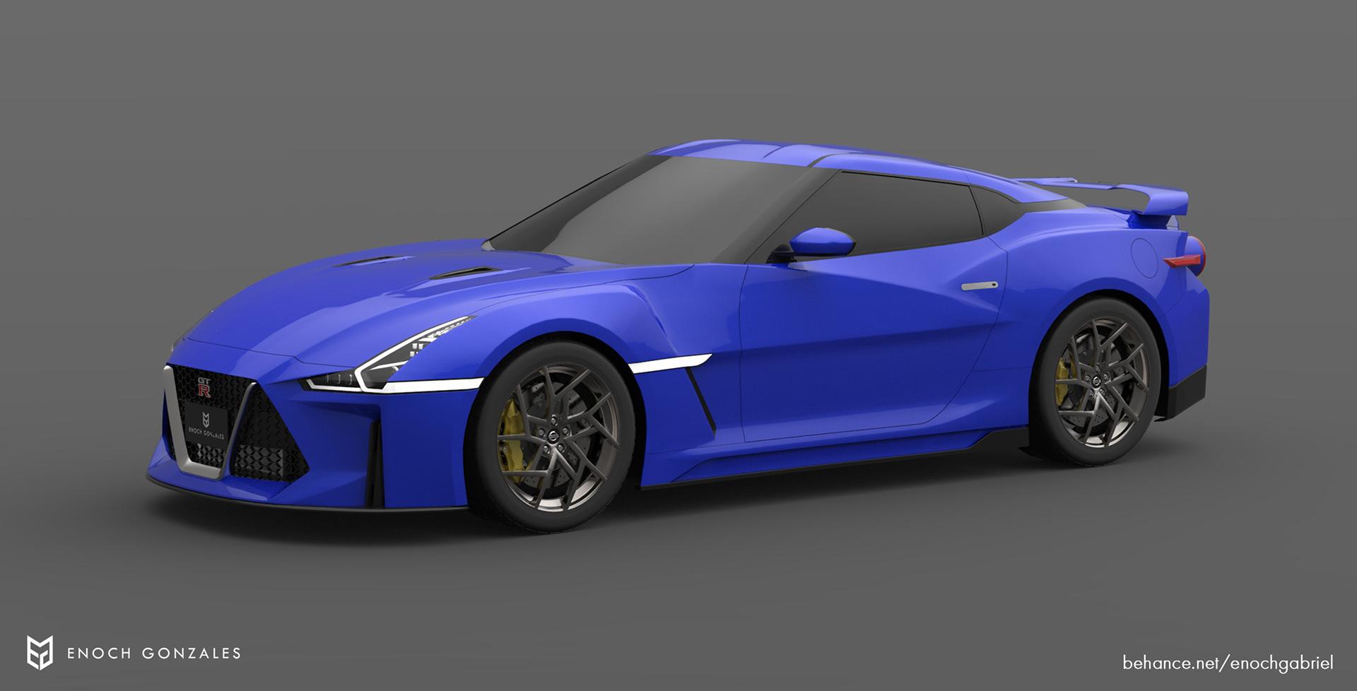 New Nissan GT-R renderings (15)