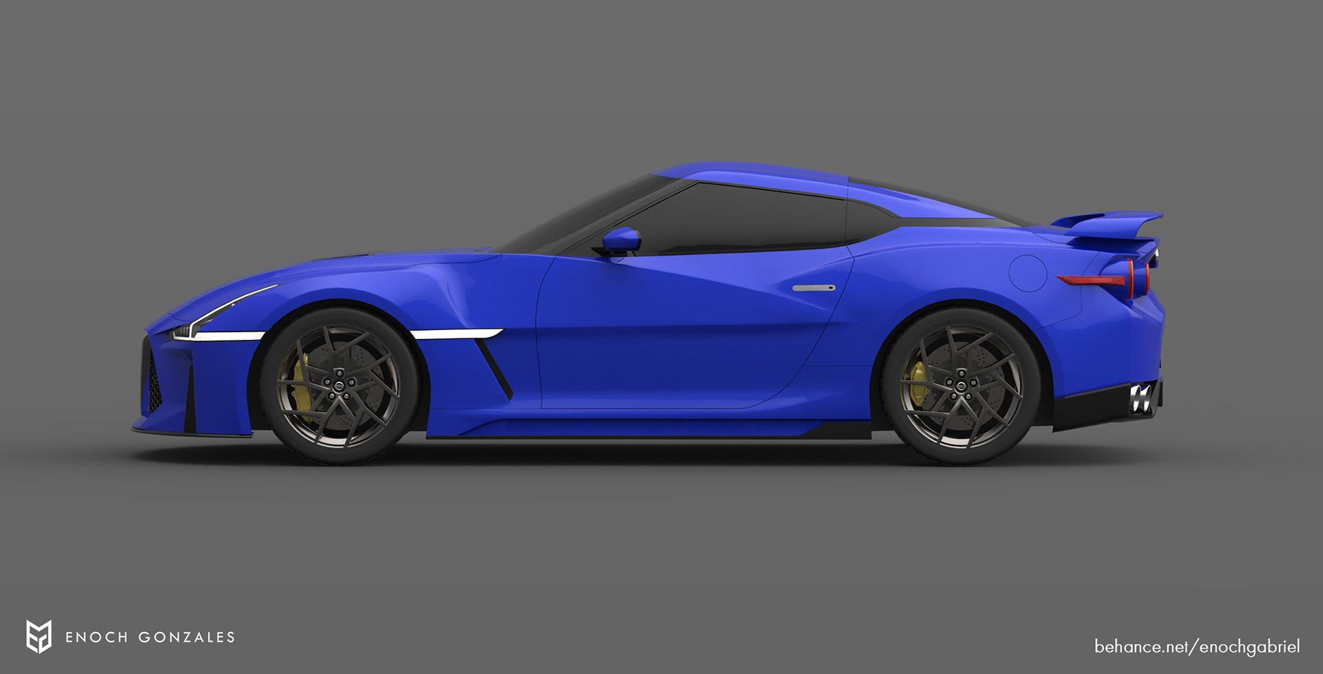 New Nissan GT-R renderings (16)