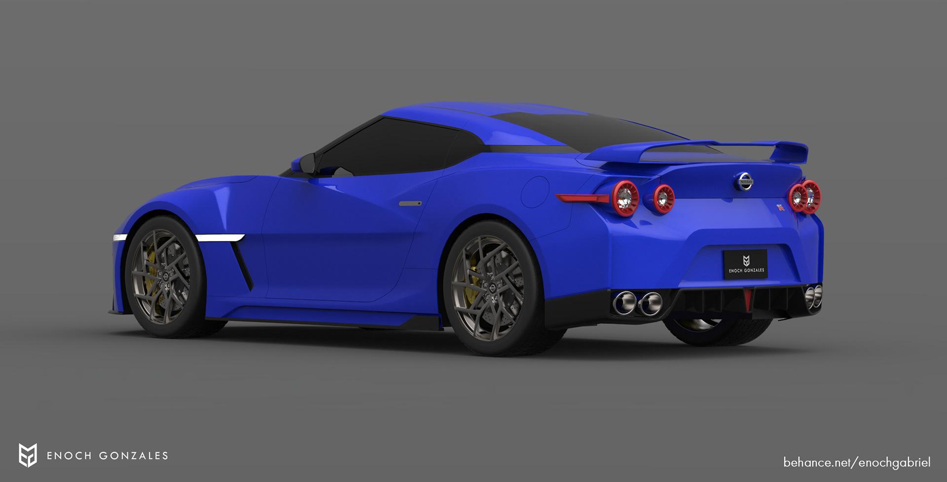 New Nissan GT-R renderings (17)