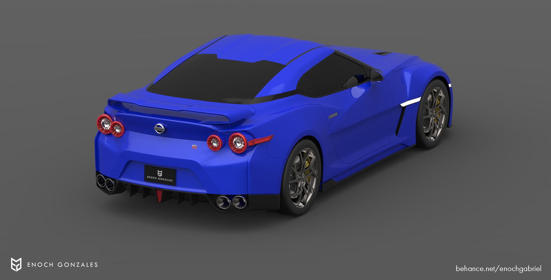 New Nissan GT-R renderings (19)