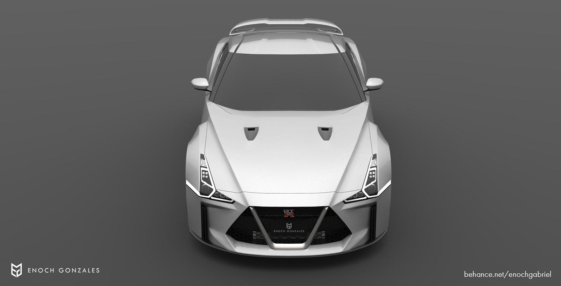 New Nissan GT-R renderings (2)