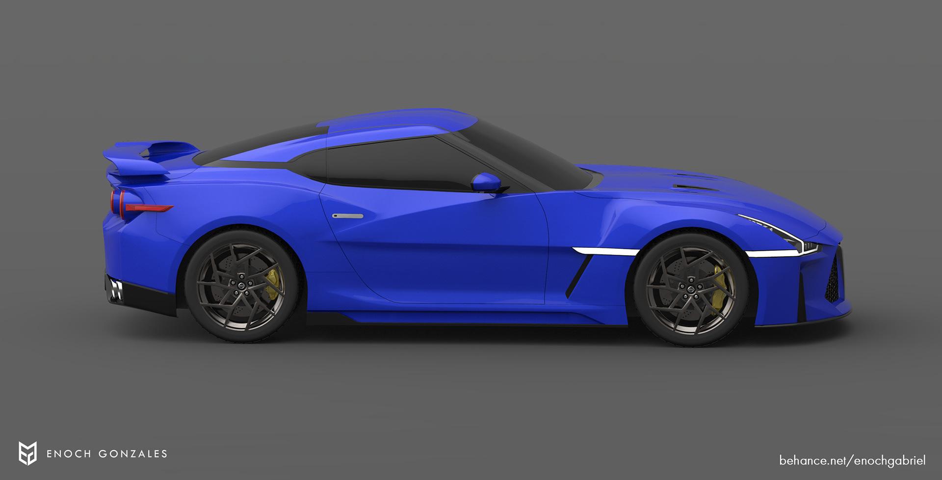 New Nissan GT-R renderings (20)