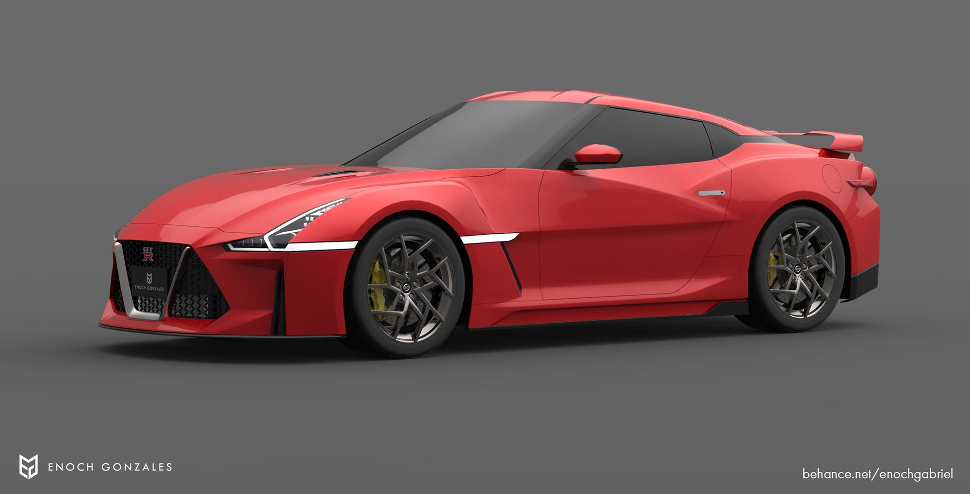 New Nissan GT-R renderings (22)