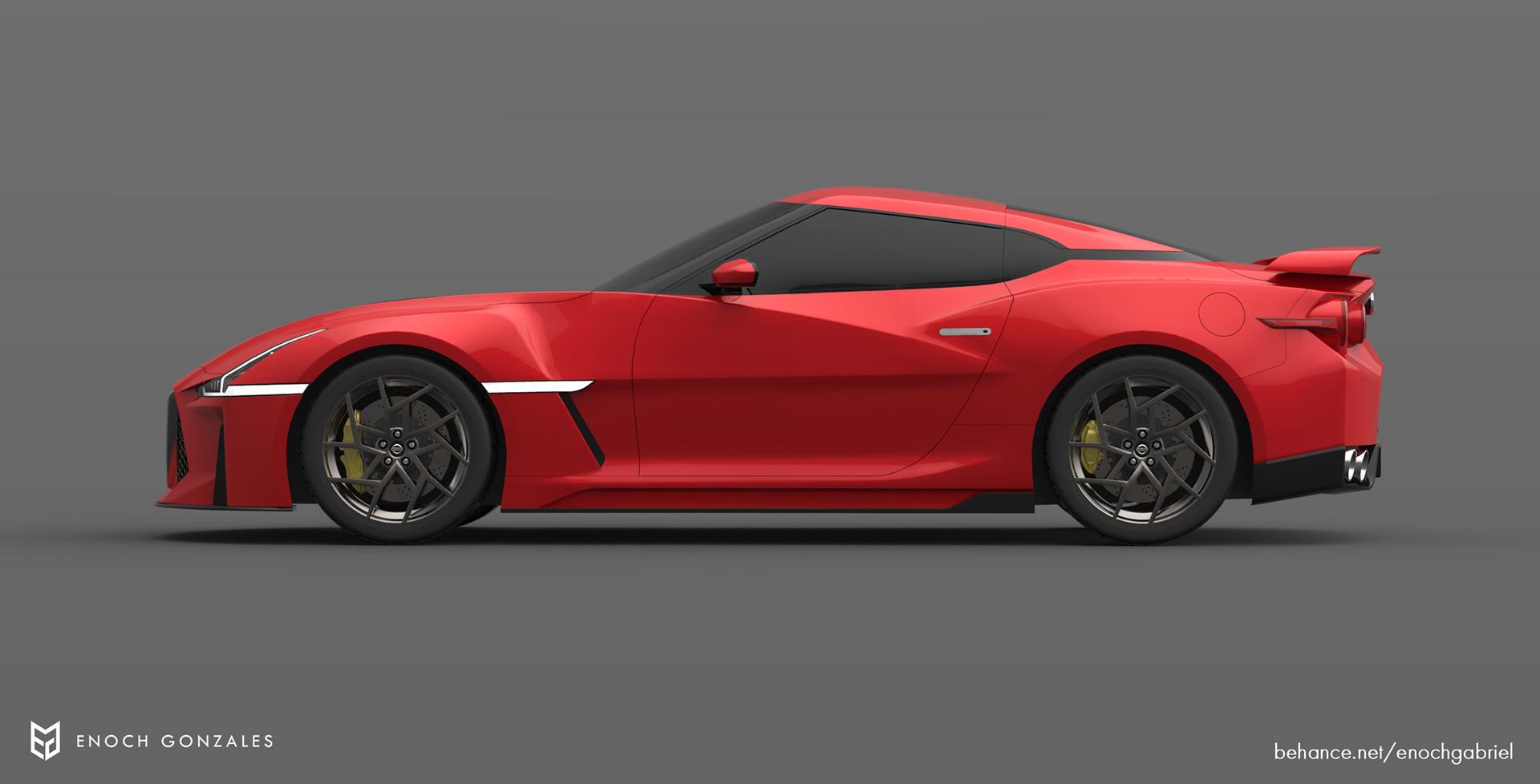 New Nissan GT-R renderings (23)