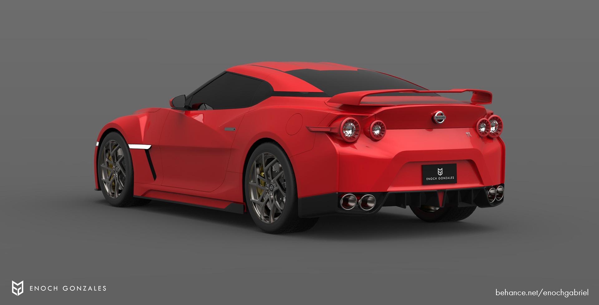 New Nissan GT-R renderings (24)