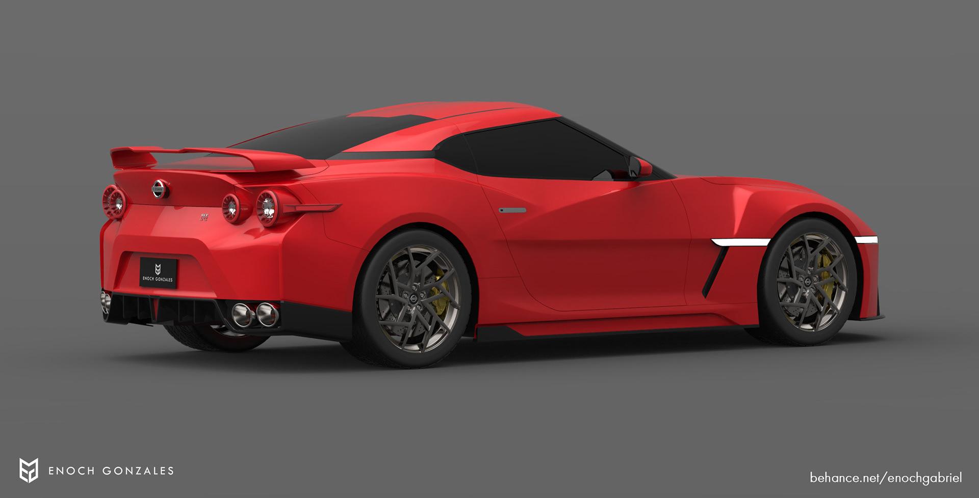 New Nissan GT-R renderings (26)