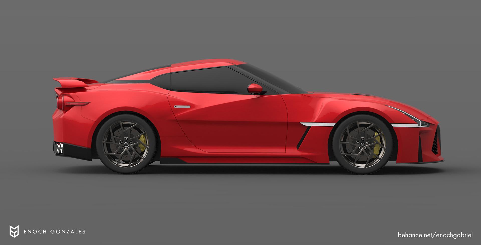 New Nissan GT-R renderings (27)