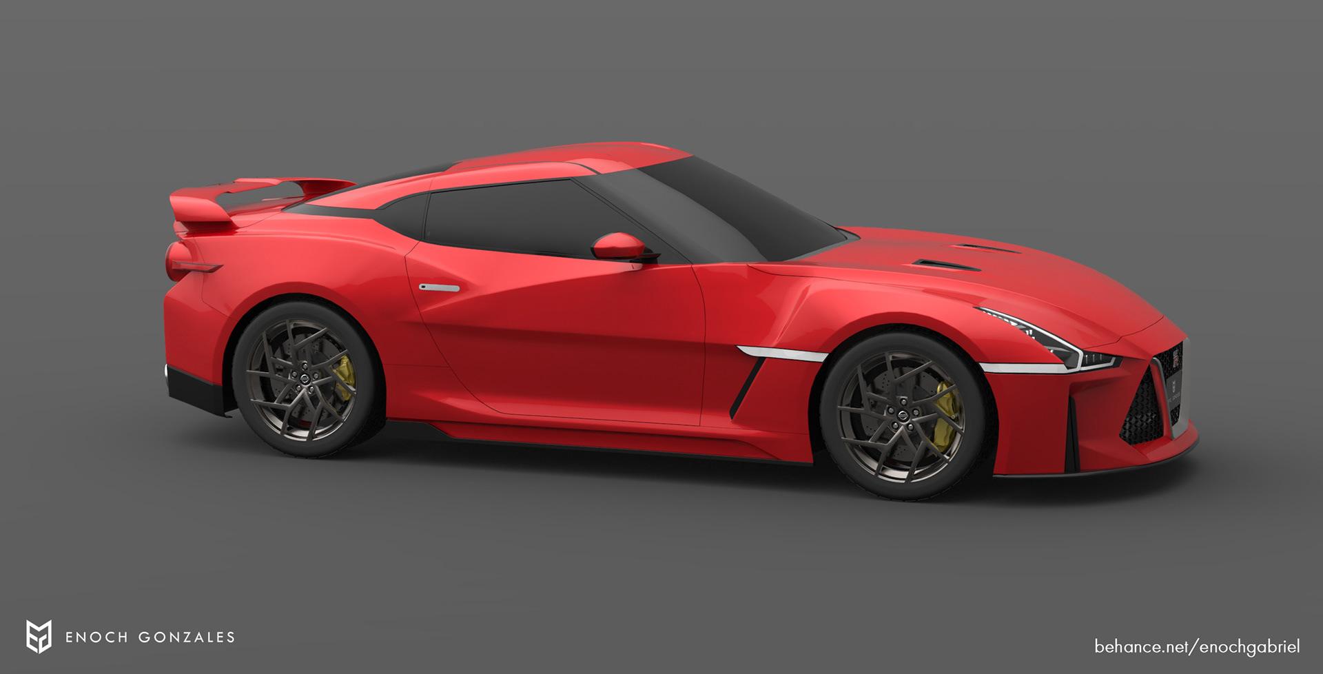 New Nissan GT-R renderings (28)