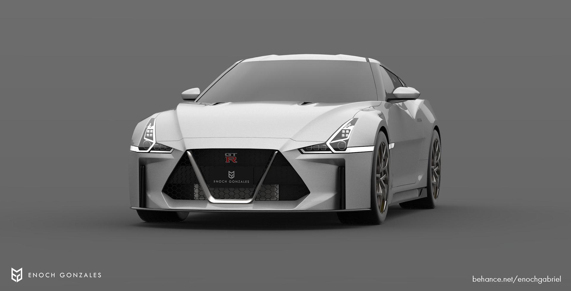 New Nissan GT-R renderings (3)