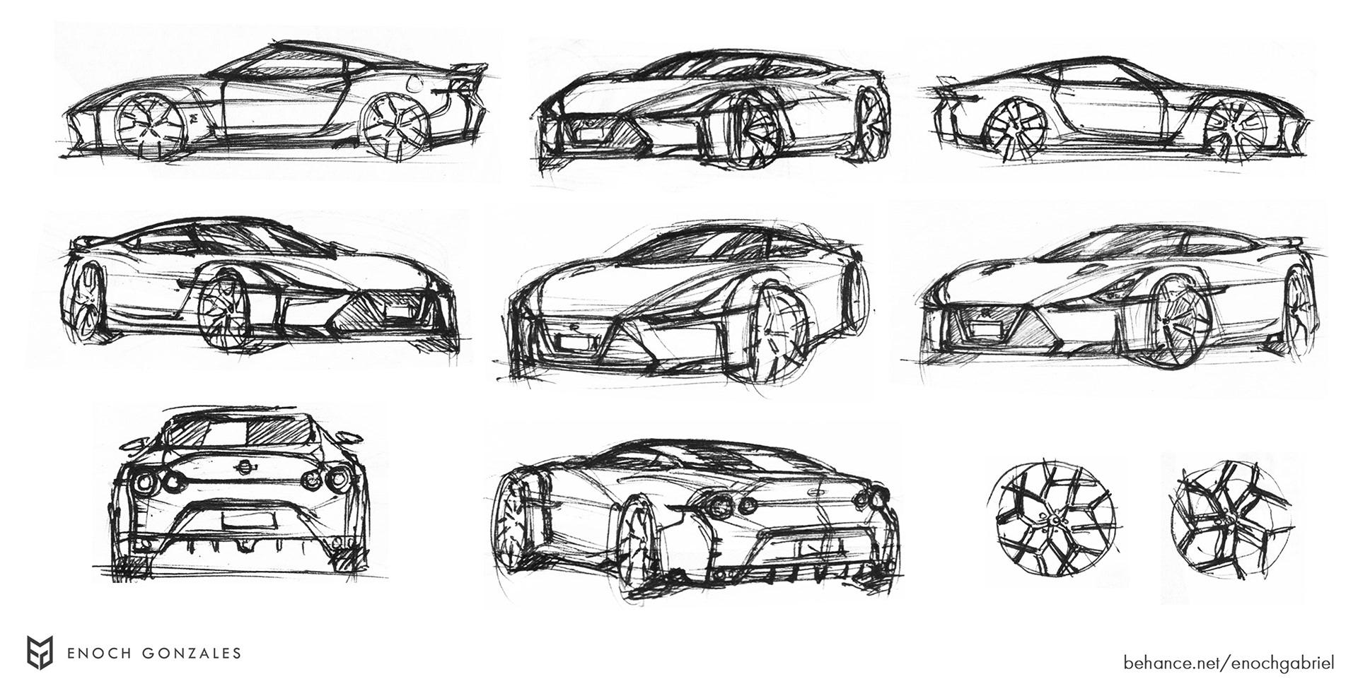 New Nissan GT-R renderings (31)