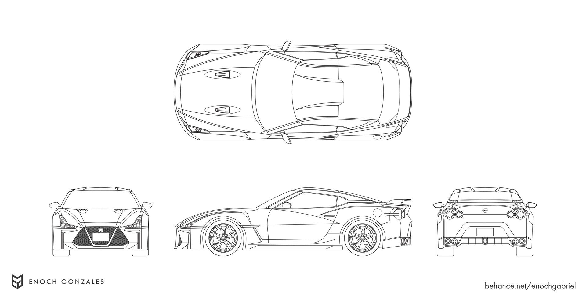 New Nissan GT-R renderings (32)