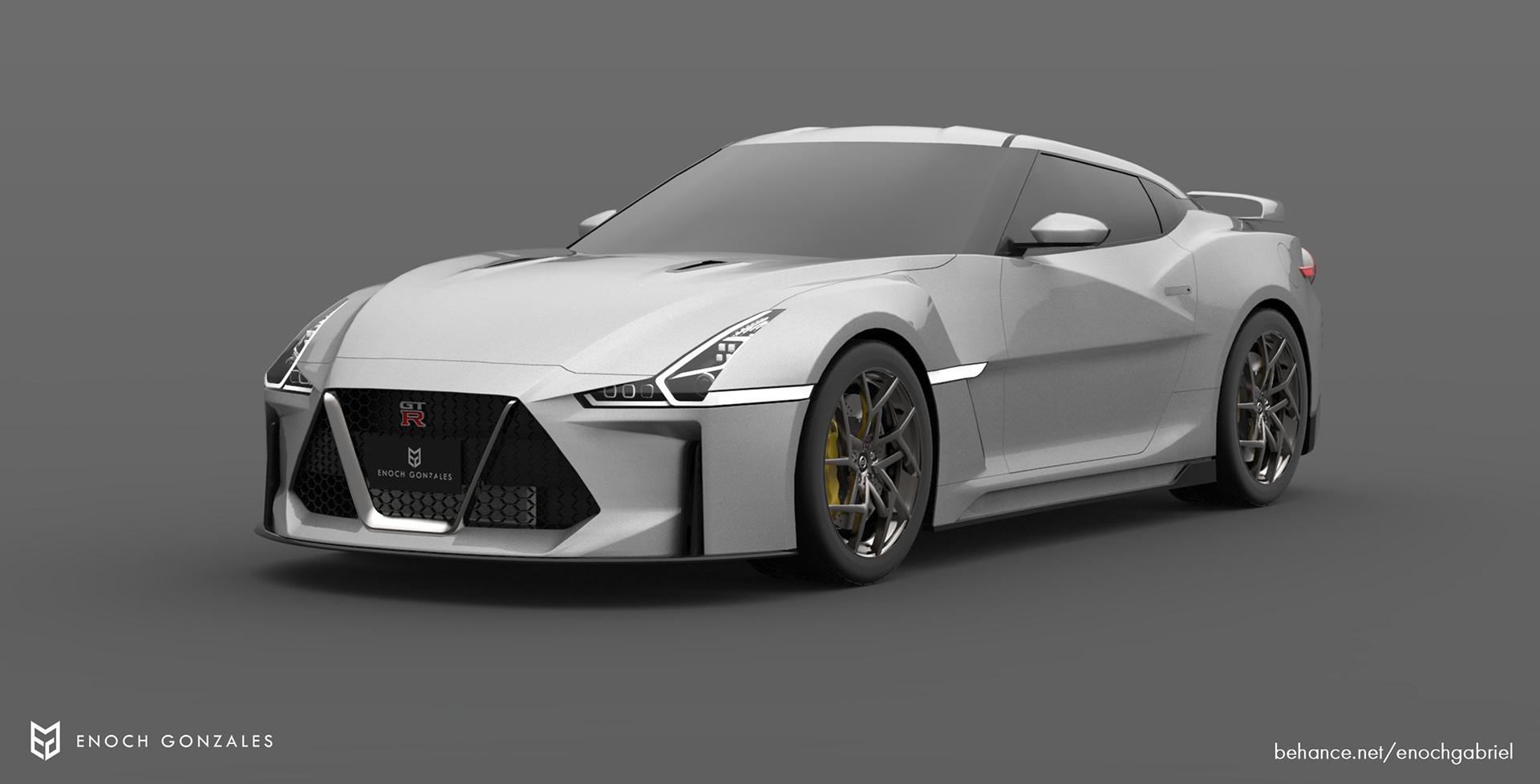New Nissan GT-R renderings (4)