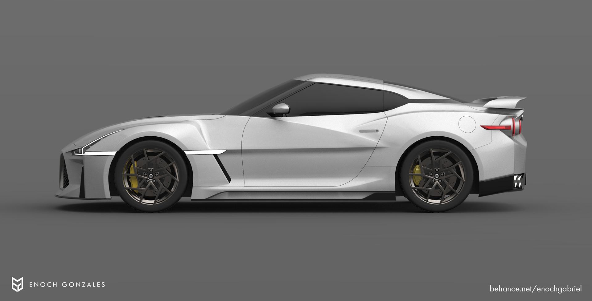 New Nissan GT-R renderings (5)