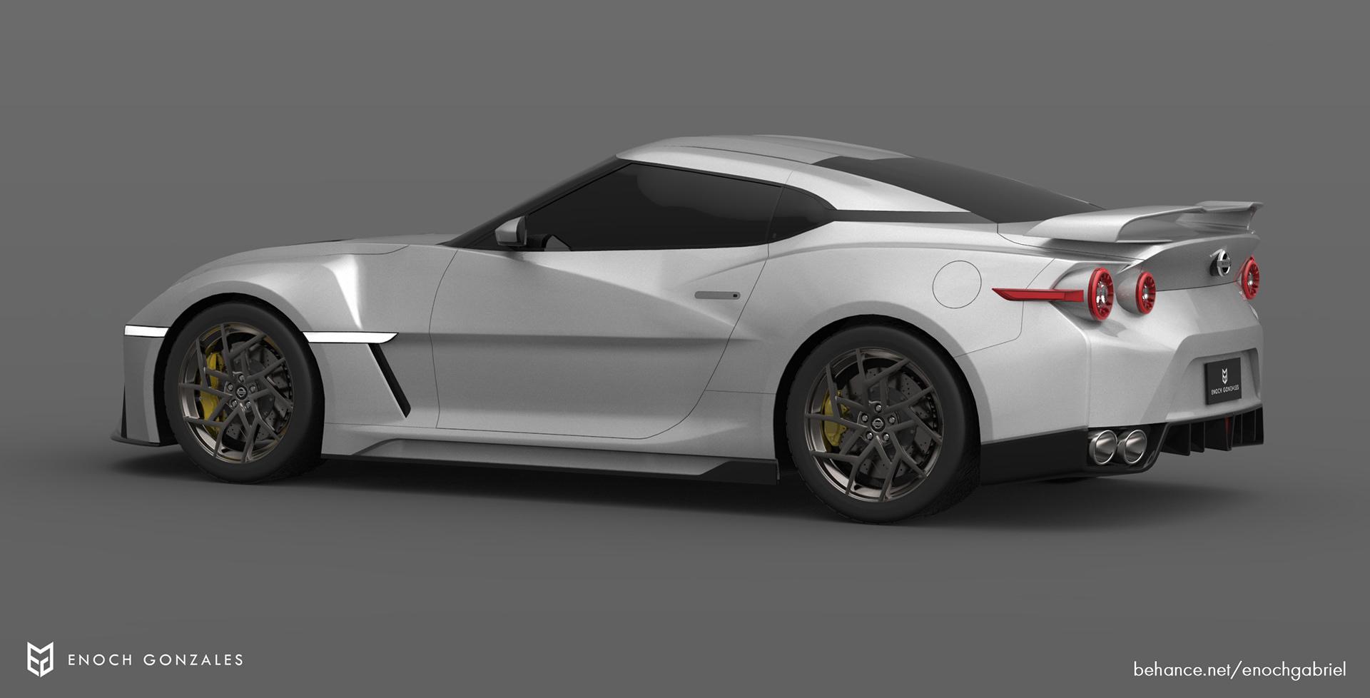 New Nissan GT-R renderings (6)