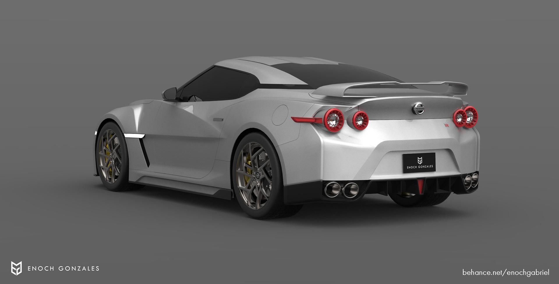 New Nissan GT-R renderings (7)