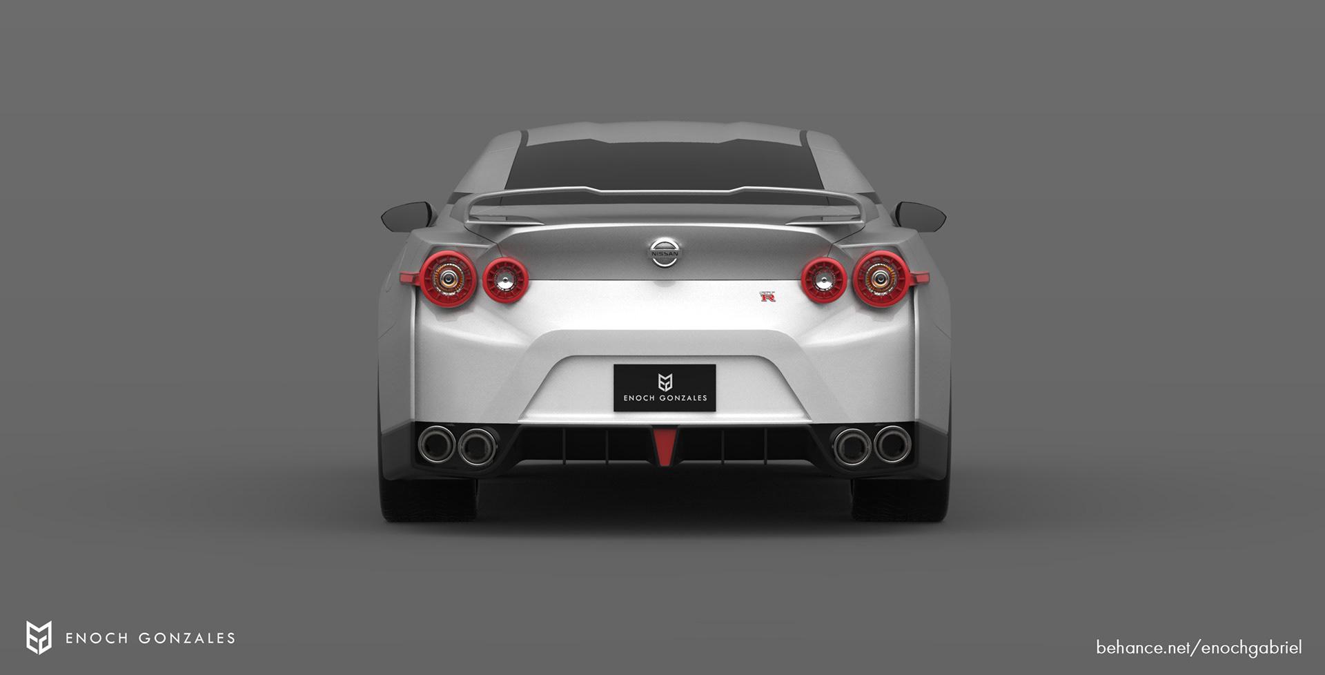New Nissan GT-R renderings (8)