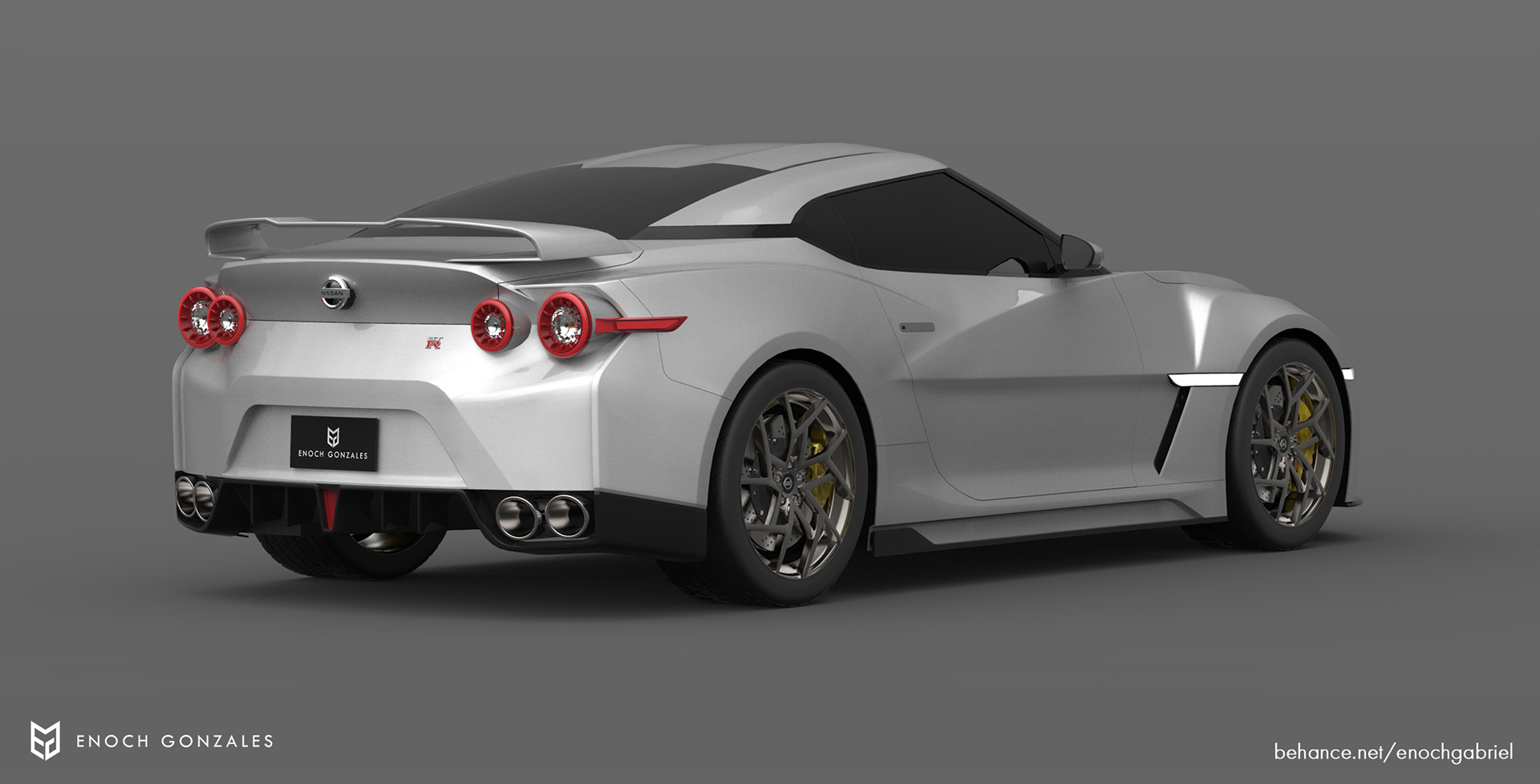 New Nissan GT-R renderings (9)
