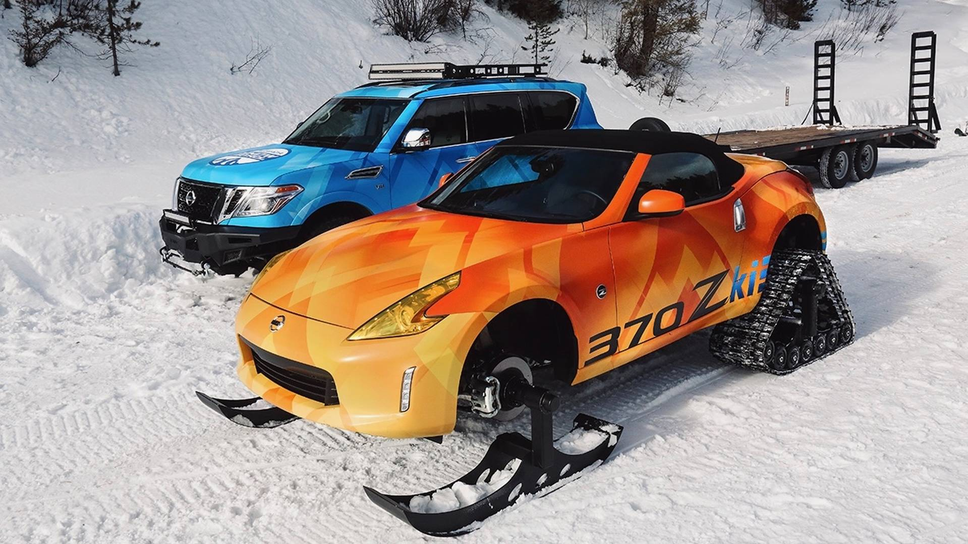 Nissan and Nissan Armada Snow Patrol (1)