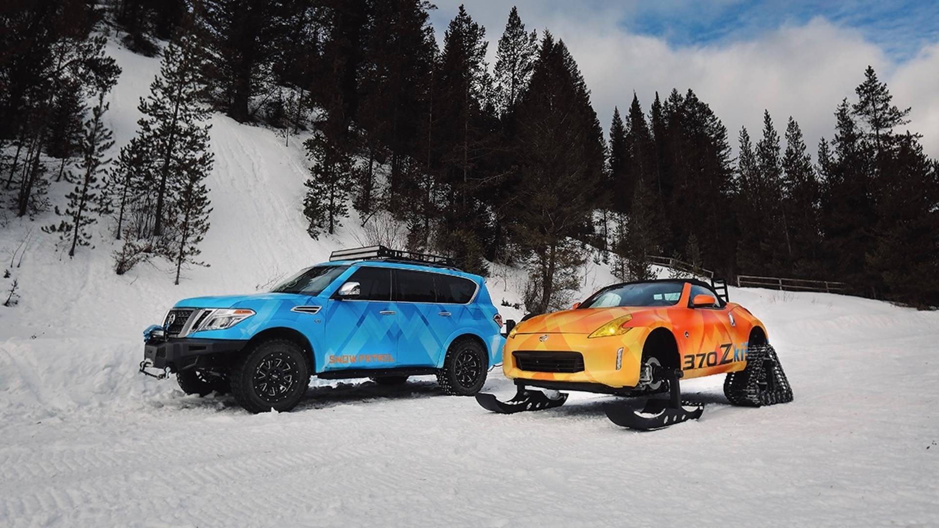 Nissan and Nissan Armada Snow Patrol (2)