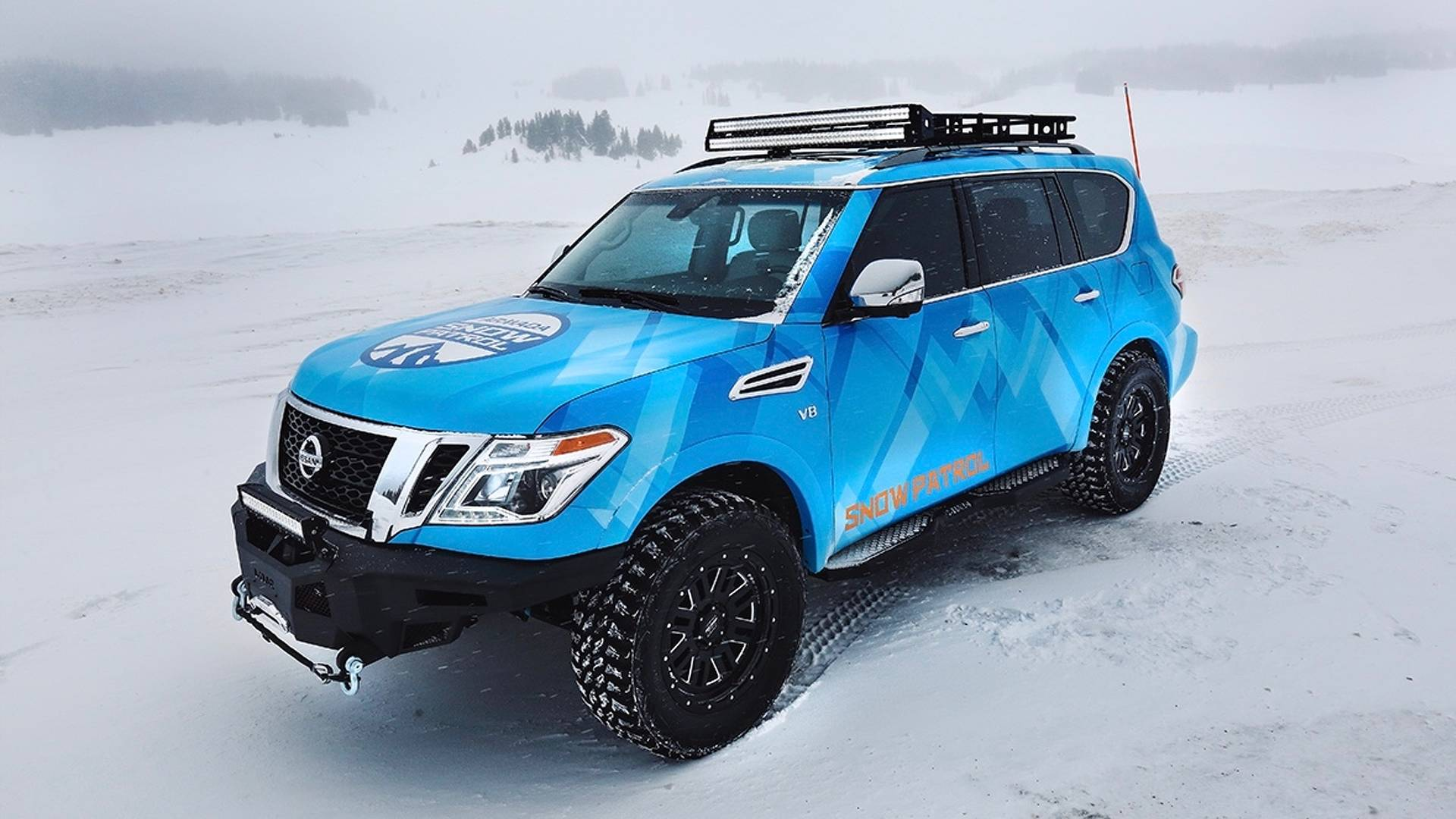 Nissan and Nissan Armada Snow Patrol (20)