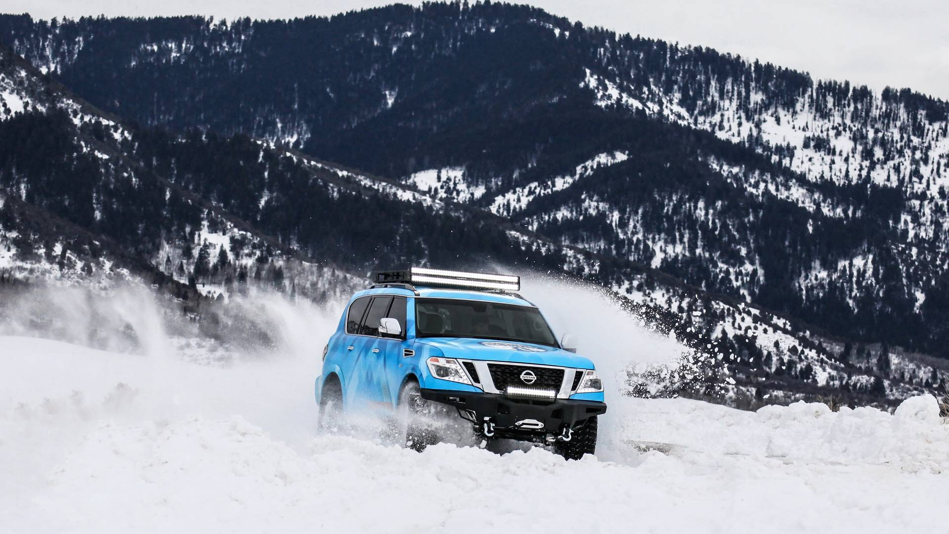 Nissan and Nissan Armada Snow Patrol (23)