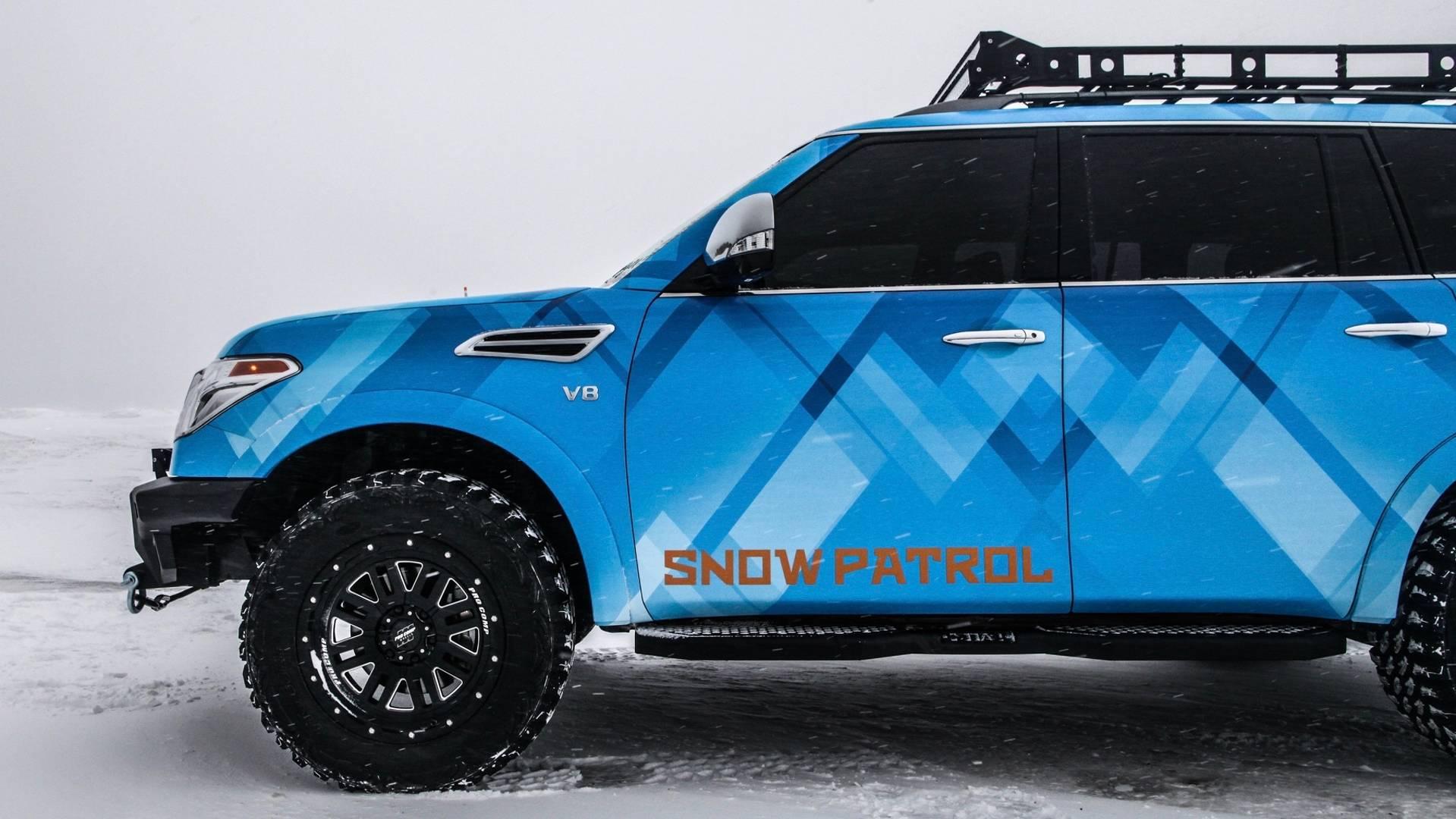 Nissan and Nissan Armada Snow Patrol (29)