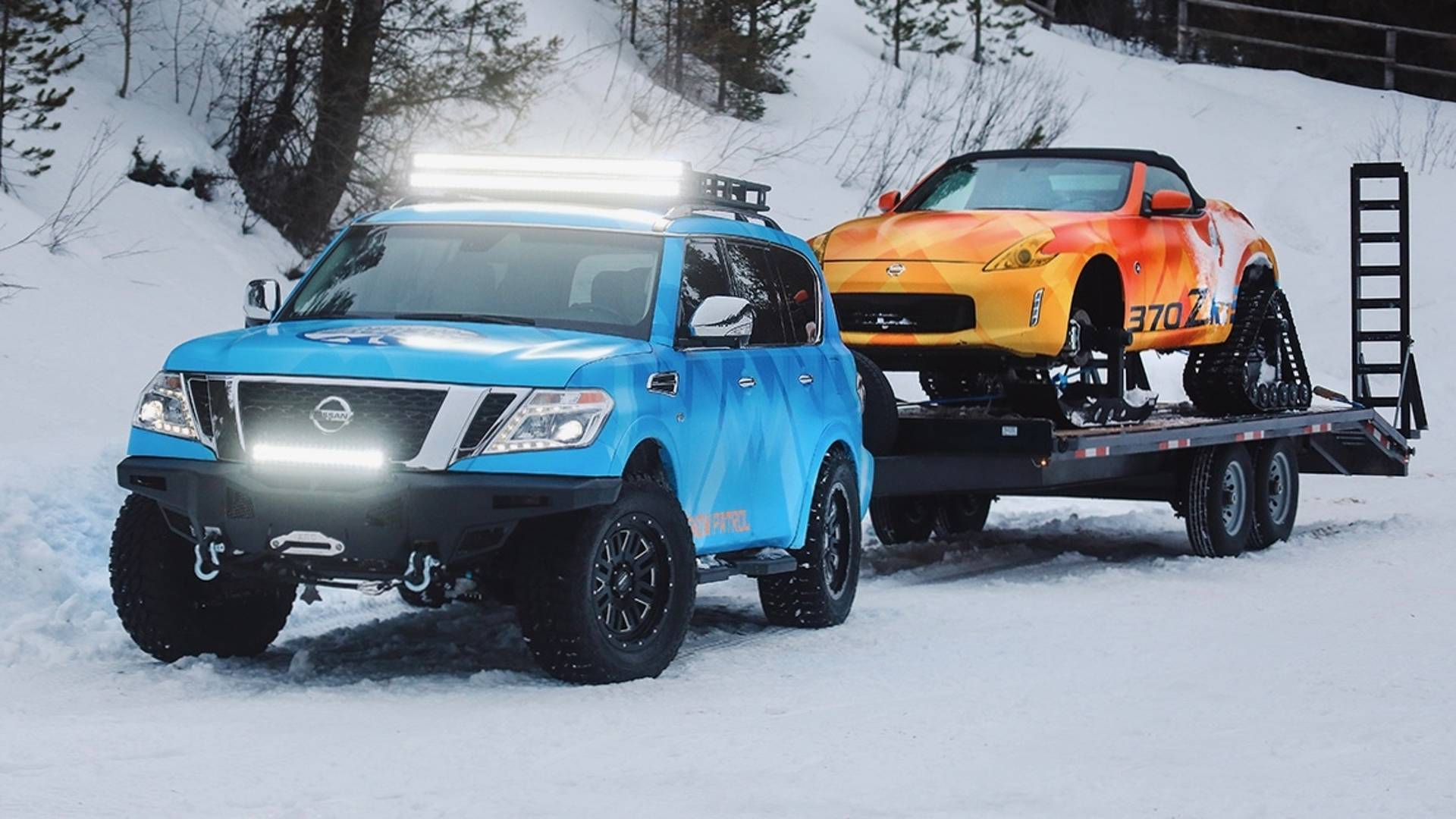 Nissan and Nissan Armada Snow Patrol (3)