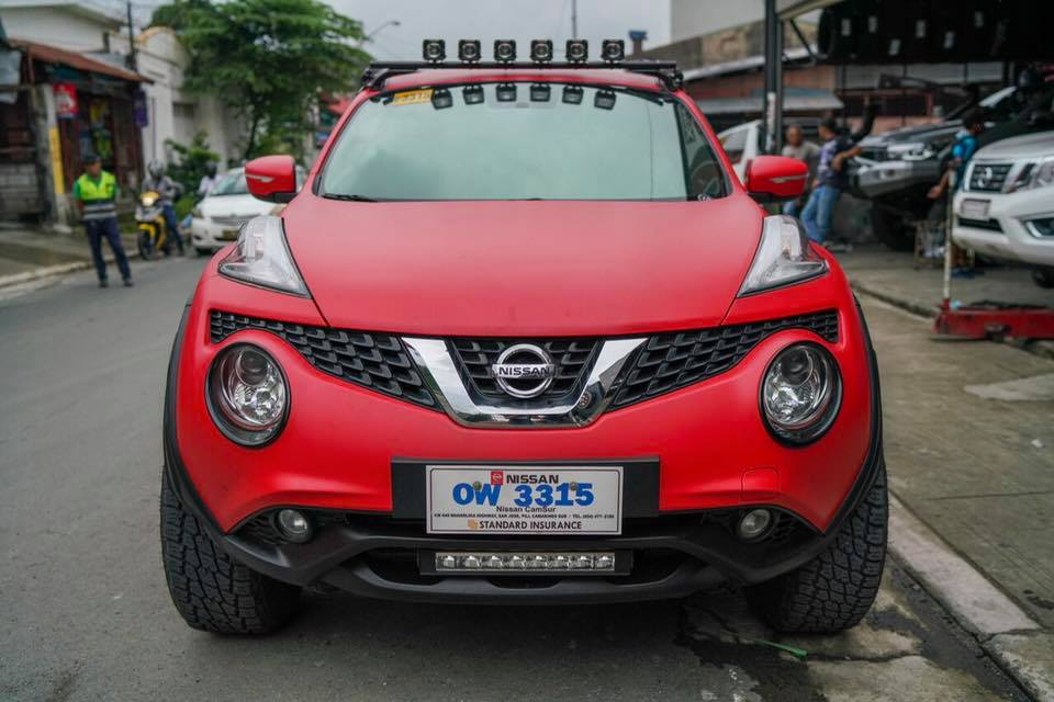 Nissan Juke Project Lady Bug (2)