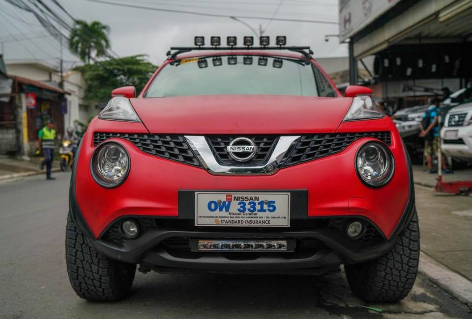 Nissan Juke Project Lady Bug (6)