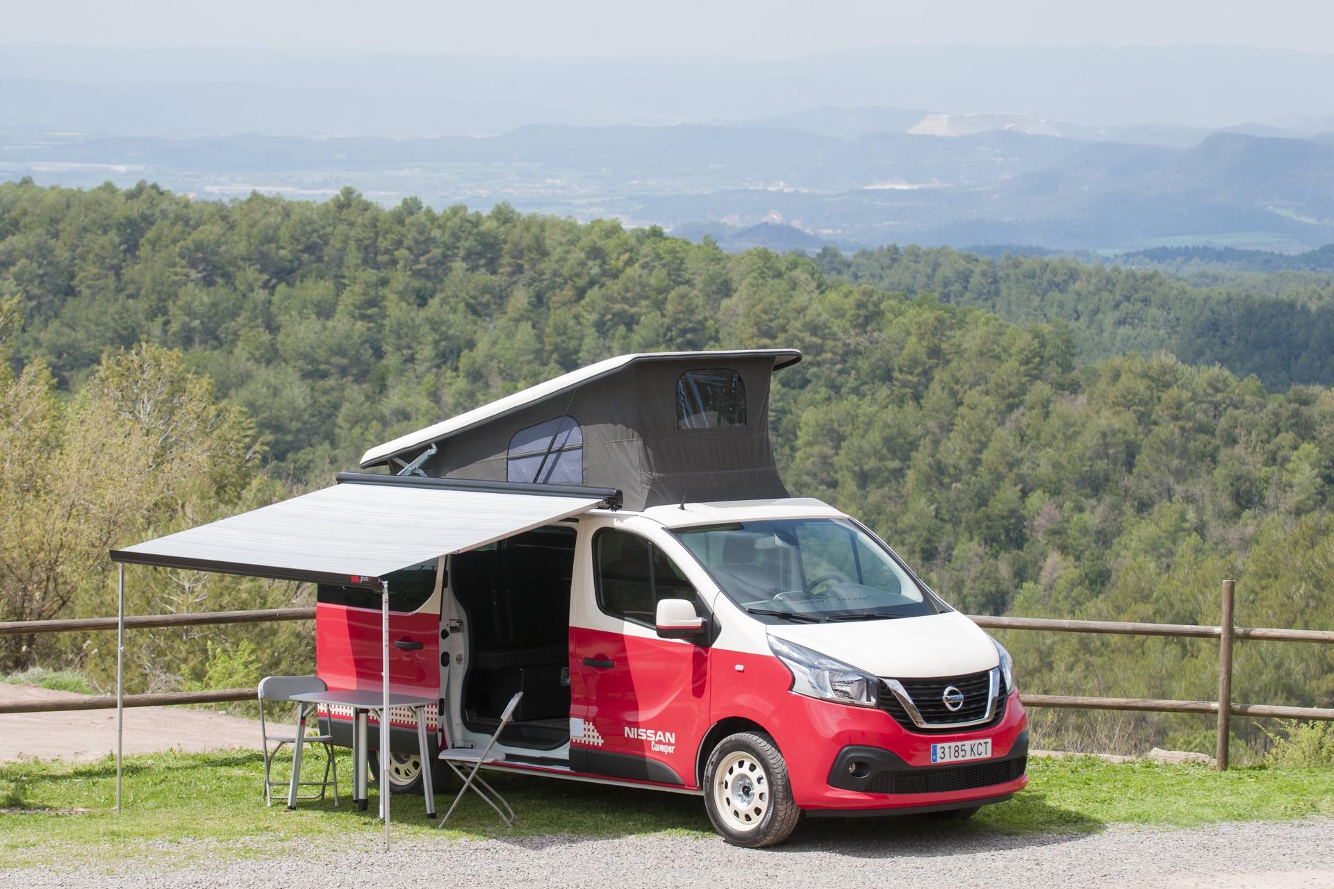 Nissan se va de vacaciones en las nuevas NV200 Camper, NV 300 Camper y la auténtica cero emisiones, la e-NV 200 Camper.