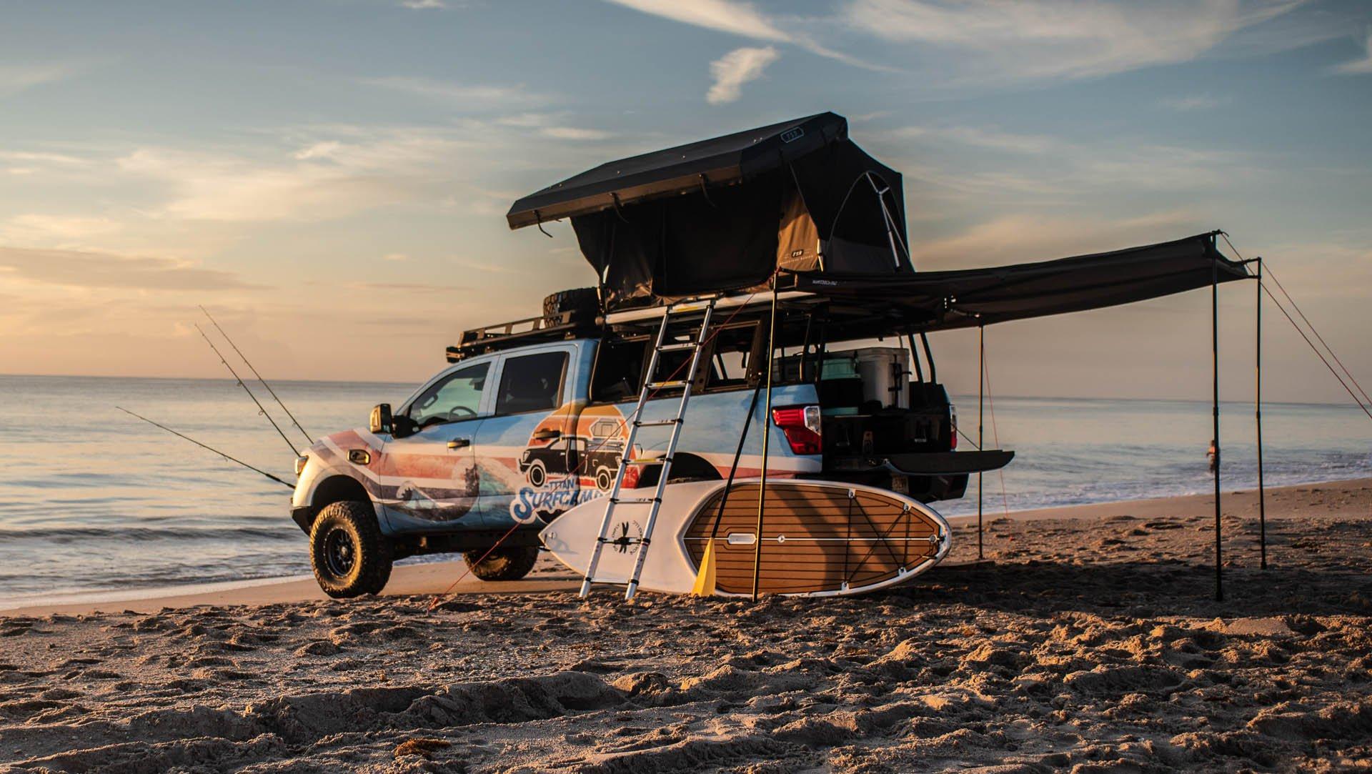 Nissan Titan Surfcamp concept (1)