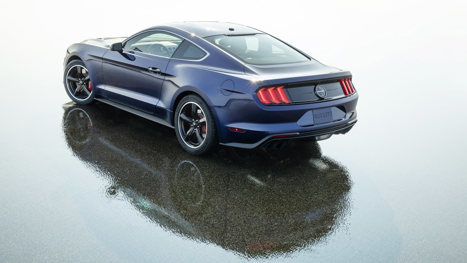 Kona Blue Mustang Bullitt