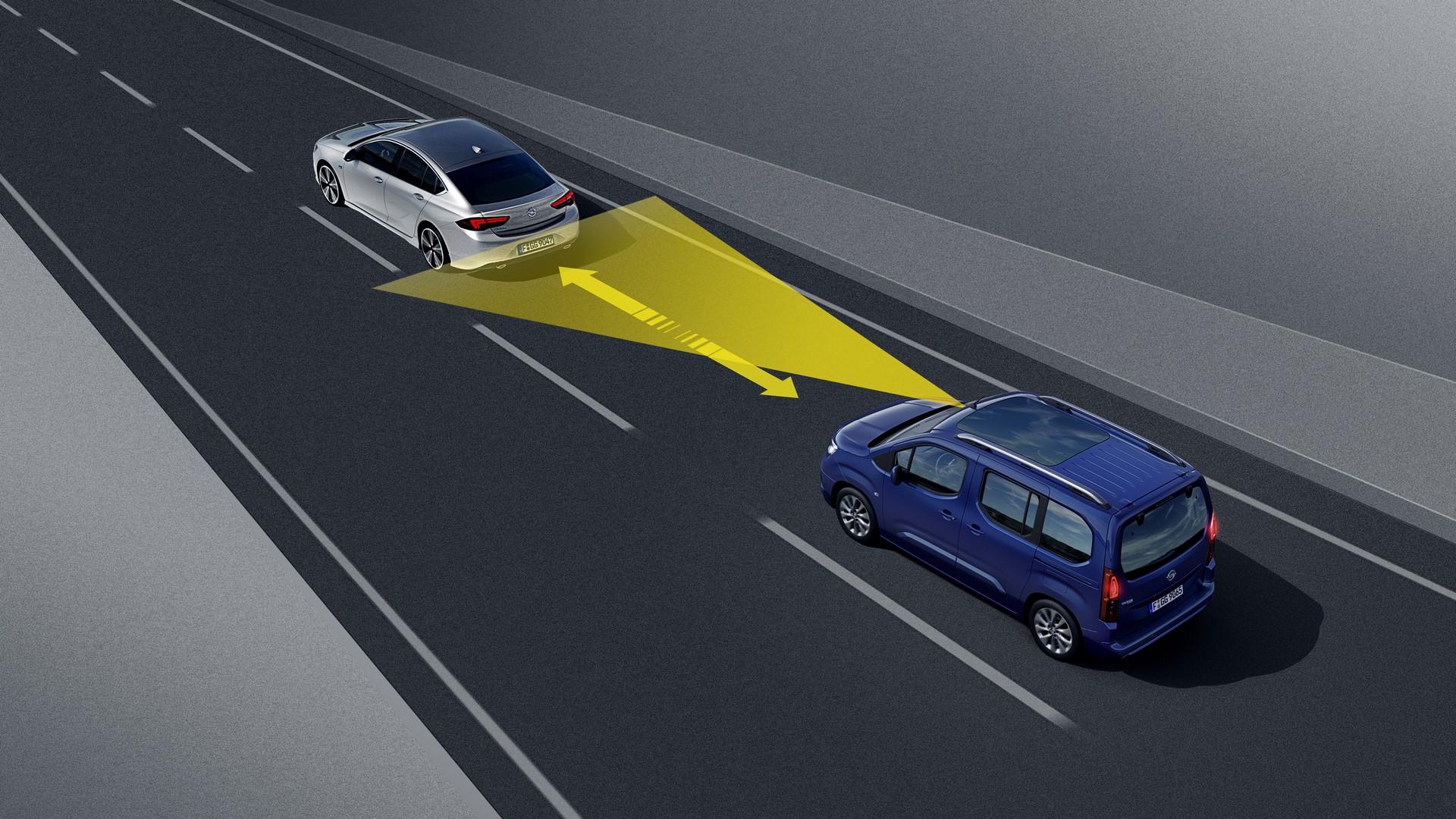 Opel Combo Life, Automatic Cruise Control