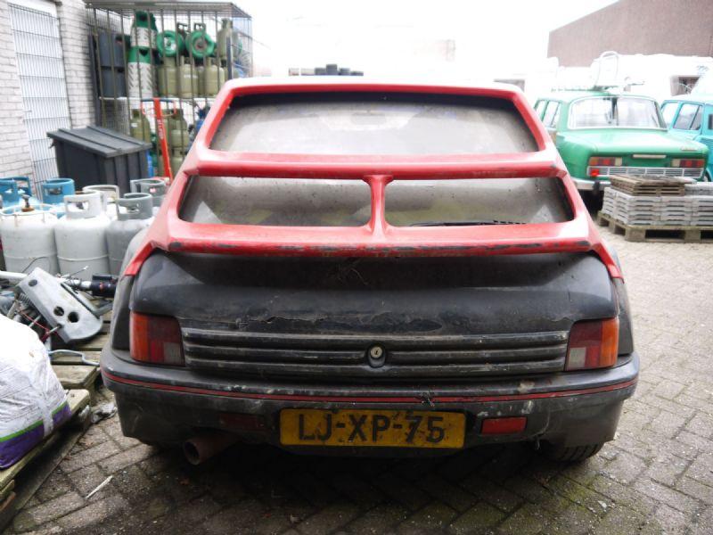 Peugeot 205 GTI Dimma barnfind (5)