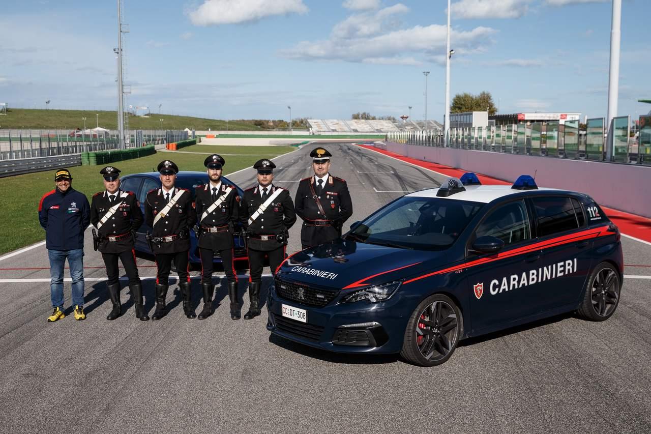 Peugeot 308 GTi Carabinieri (10)