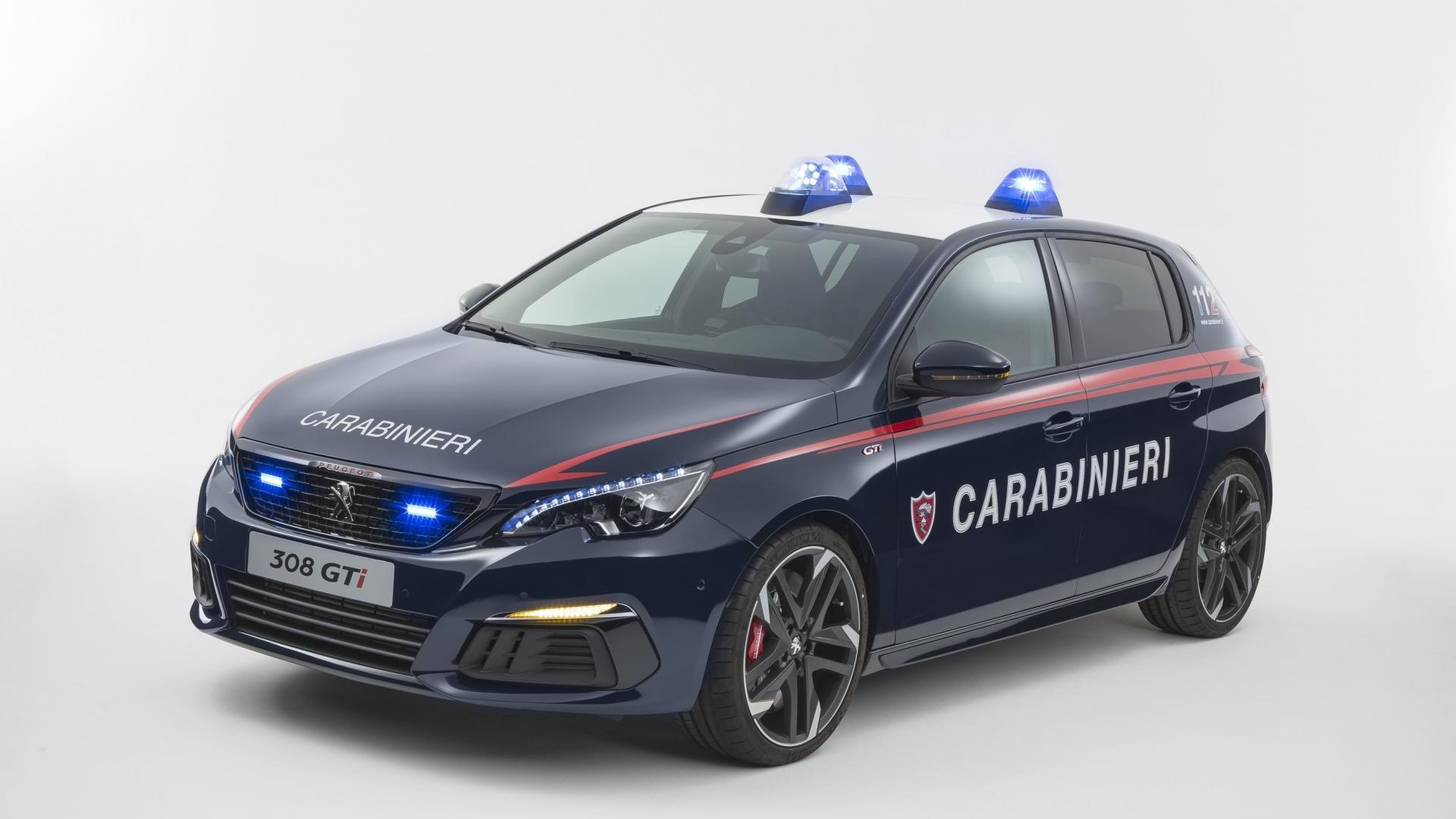 Peugeot 308 GTi Carabinieri (11)