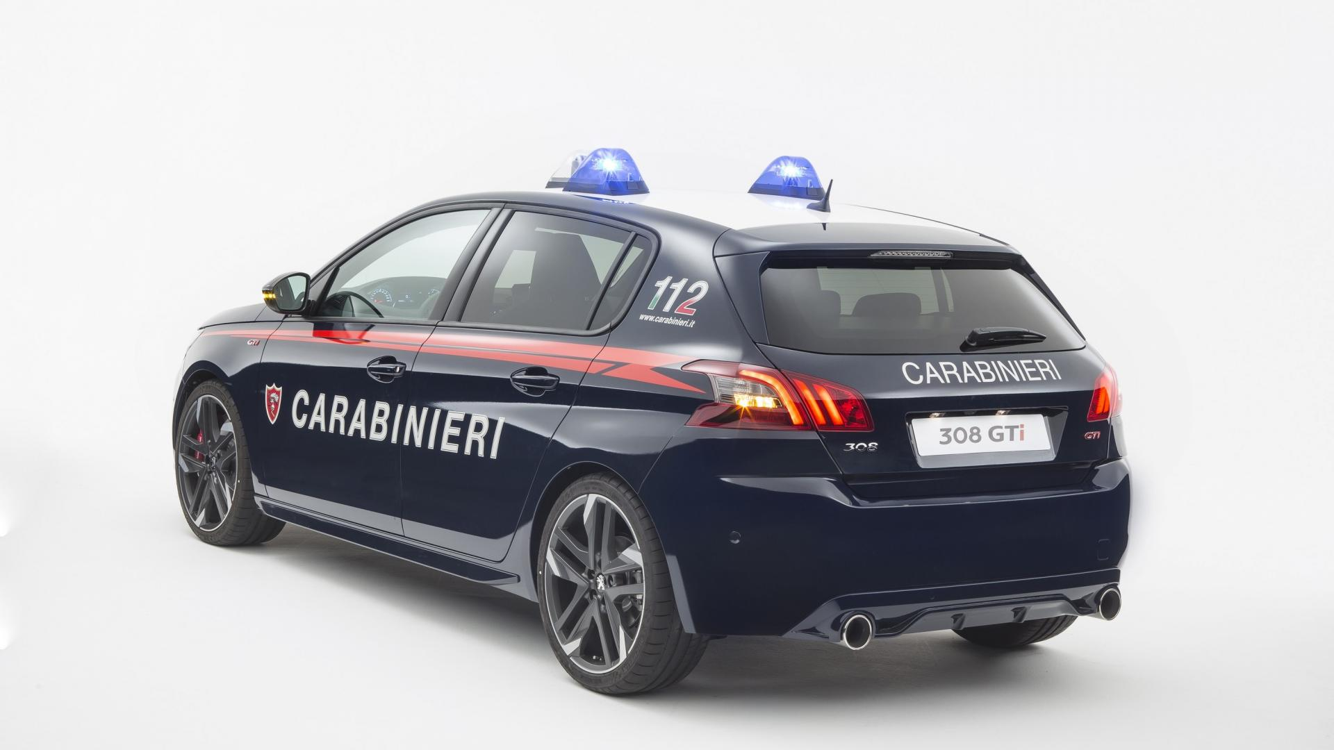 Peugeot 308 GTi Carabinieri (2)